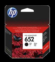 HP 652 Black Original Ink Advantage Cartridge - F6V25AE