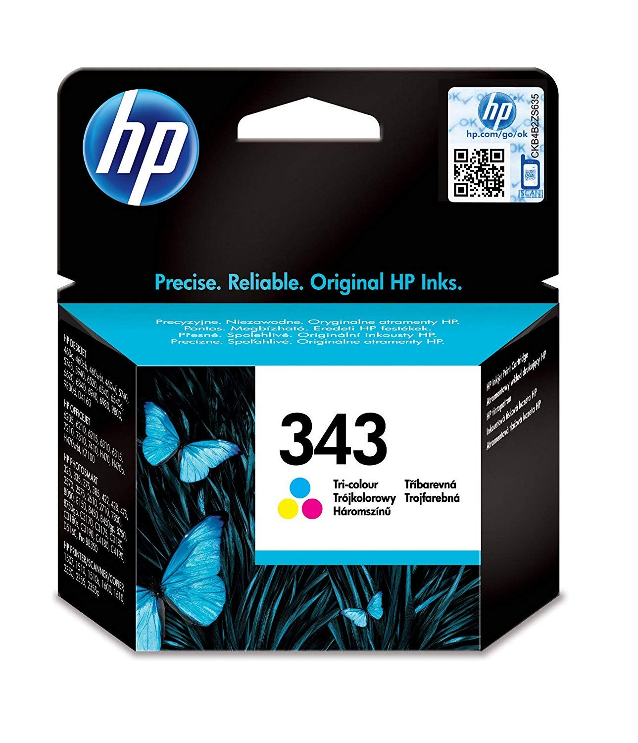 HP 343 Colour Cartridge - C8766E