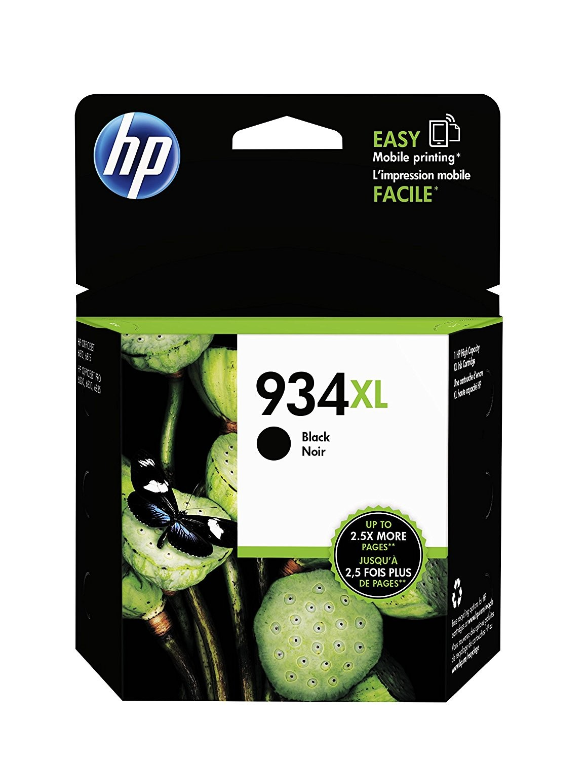 HP 934XL Black High Yield Original Ink Cartridge - C2P23AE