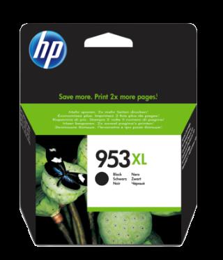 HP 953XL High Yield Black Original Ink Cartridge - L0S70AE