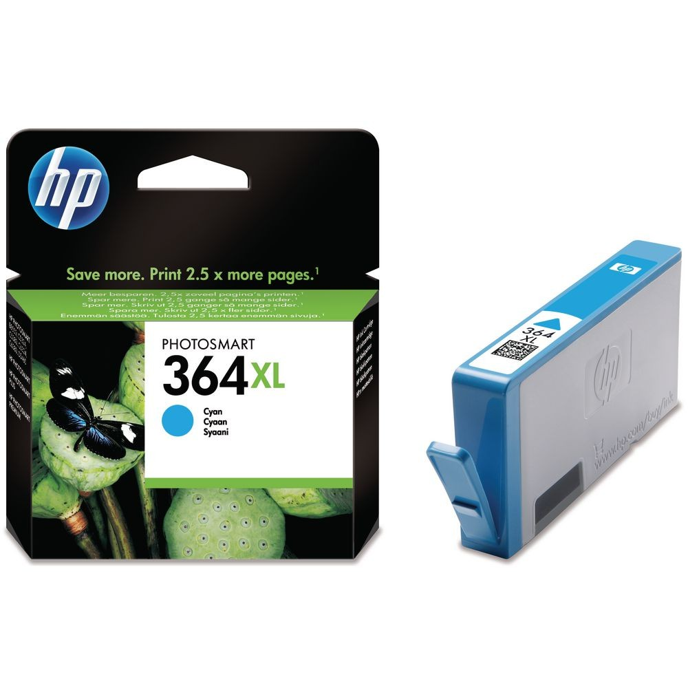 HP Cyan Cartridge 364XL - CB323EE