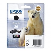 Epson Ink/26 Polar Bear 6.2ml BK - CT13T26014012