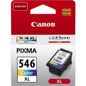 Canon High Yield Color Original Ink Cartridge - CL-546XL