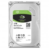 Seagate 1TB BarraCuda SATA 6Gb/s 7200 RPM 64MB Cache 3.5 Inch Desktop Hard Drive - ST1000DM010