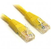 UTP Yellow Cat 6  1.0m Network Cable, Patch Lead - UTPC6-100CM-Y