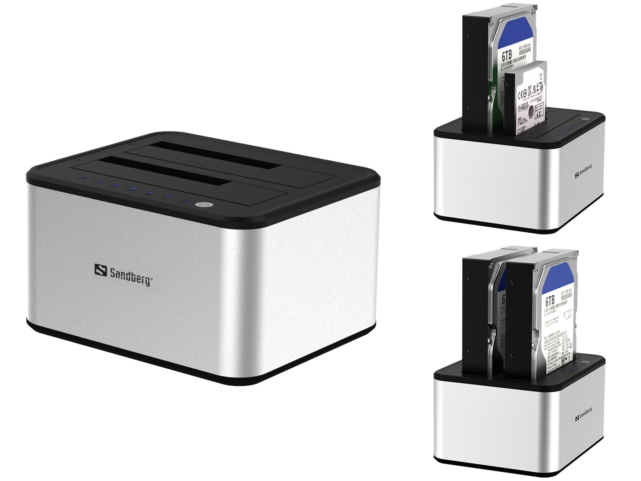 Sandberg USB 3.0 HDD Cloner - 133-74