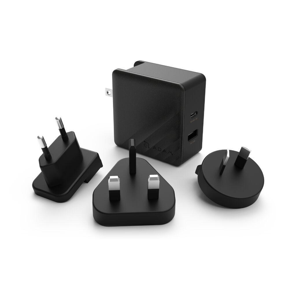 OMNIA P5 USB-C PD 45W Travel Fast Charging Adapter (Black) - APAADP5BK