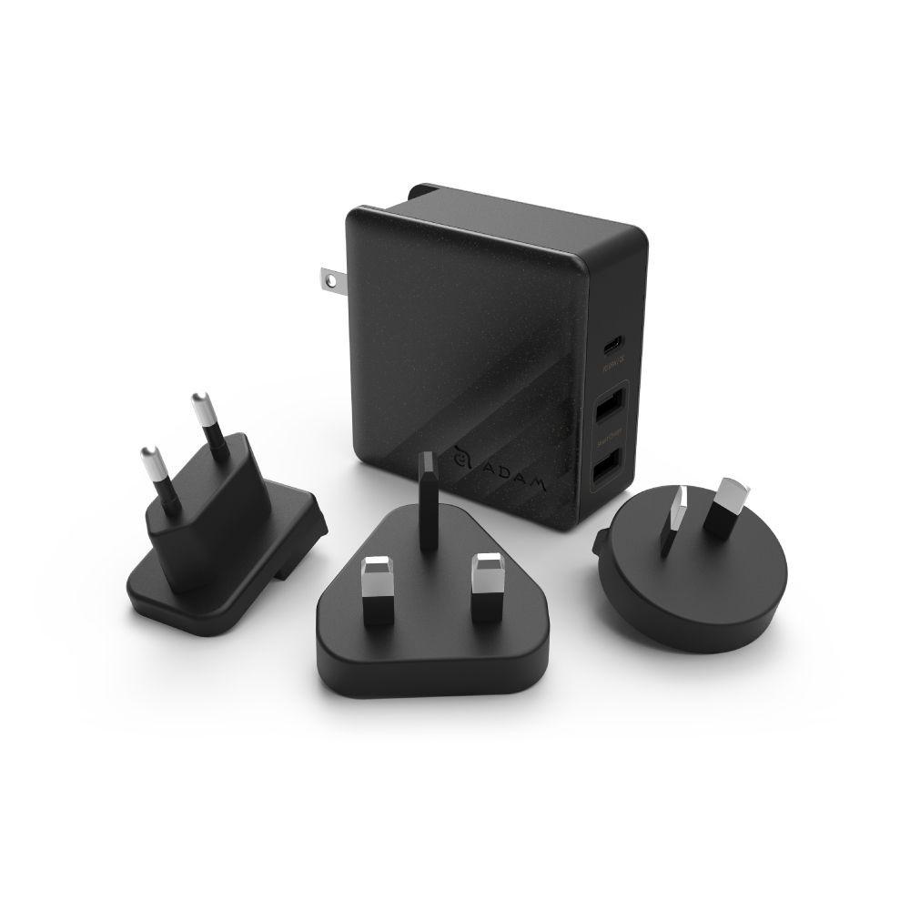 OMNIA P7 USB-C PD 74W Travel Fast Charging Adapter (Black) - APAADP7BK