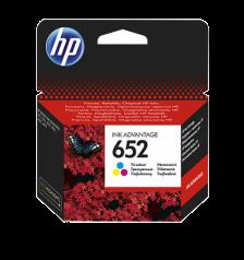 HP 652 Color Original Ink Advantage Cartridge - F6V24AE