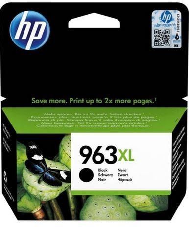 HP 963XL High Yield Black Original Ink Cartridge - 3JA30AE