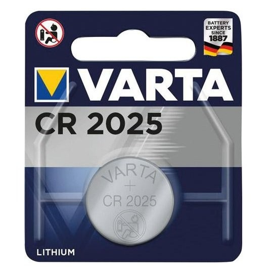 Varta CR2025 Lithium Batteries - CR2025