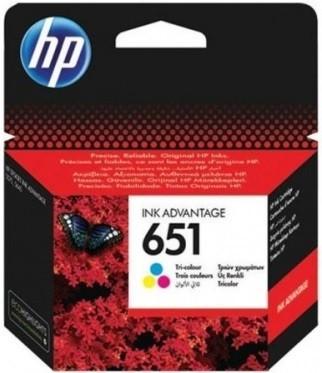 HP No 651 Colour Cartridge - C2P11AE
