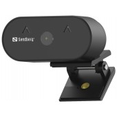 Sandberg USB Webcam Wide Angle 1080P HD - 134-10