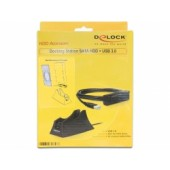 Delock Docking Station SATA HDD > USB 3.0 - 61858