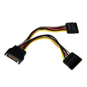 Startech 15cm SATA Power Y Splitter Cable Adapter - PYO2SATA