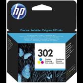HP 302 Color Original Ink Cartridge - F6U65AE