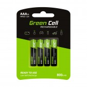 Green Cell Rechargeable AAA/4 800mAh - GR04