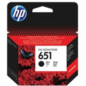 HP No 651 Black Cartridge - C2P10AE