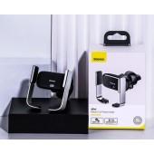 Baseus Mini Electric Car Phone Holder Black - SUHW01-01