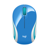 Logitech Wireless M187 Mini Mouse Blue - 910-002733